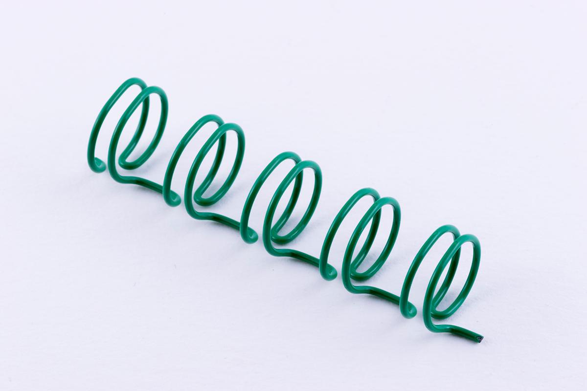 ツインリング緑